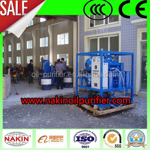 Trailer-type Dirty Transformer Oil Cleaning System(1800L/H-18000L/H)