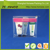 custome printed clear PVC plastic zipper bag/ vinyl pouch