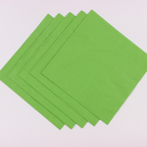 Green Paper napkins, Summer Party printed napkins, Party Paper Colorful Fiesta ropical Party Napkins,