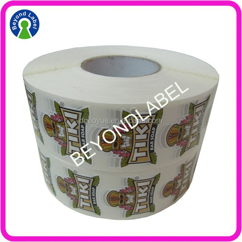 Waterproof Custom Adhesive Logo Sticker,Custom Roll Printer Labels.