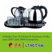 2012 Hot sale Durable Stainless Steel Water Jar with tea tray
