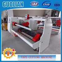 GL--701 Single circular blade automatic tape cutting machine for masking paper tape , double sided tape , foam tape