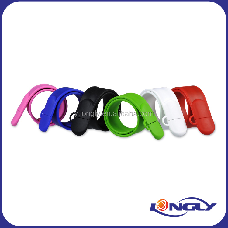 Colorful Slappy Wrist Band USB Flash Drive