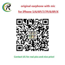 Best selling products 2017 in usa original earphone handphone for iPhone 7 with mic for iPhone earphone