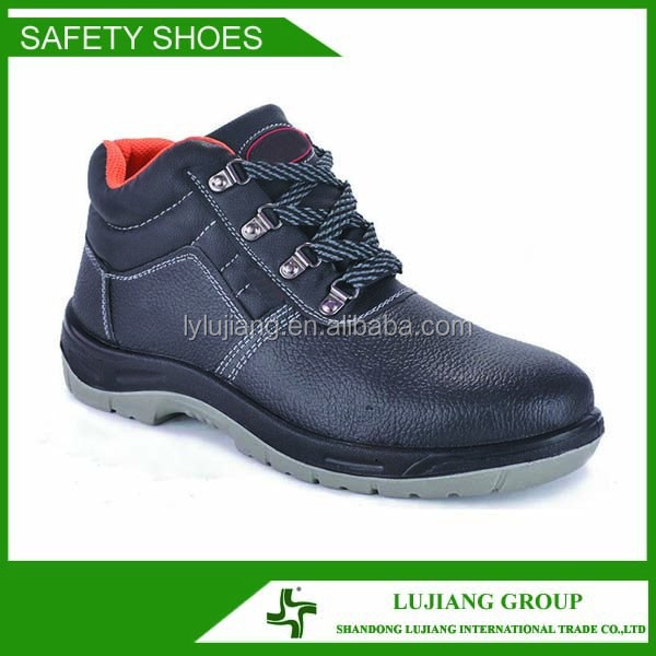 Feet protective confortable safety shoes,PU dual density injection outsole Puncture proof work shoes