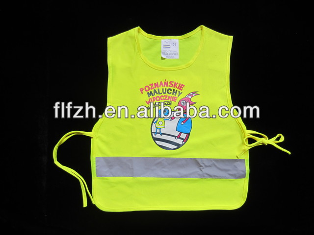 Kids Security Vest with Printing