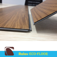 Unilin interlocking wood pvc flooring For Home Used