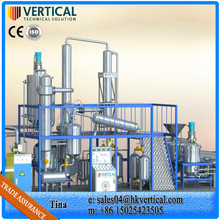 Recycle Used Engine Oil Plant Regenerating Condition Oil Refinery Investors Waste Cooking Oil Filtration Machine