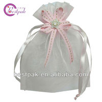 promotional novelty cheap organza favor bags
