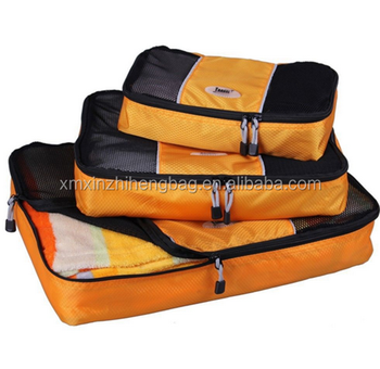 Travel Clothing Storage Bags XZH Packing Cubes 5PC Sets