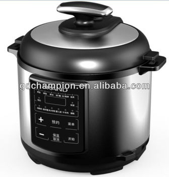 Commercial stainless steel housing electric pressure cooker