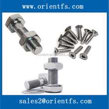 All sizes fasteners for cars