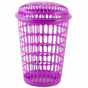 Factory Manufacture Various Stackable Mesh Round Laundry Baskets
