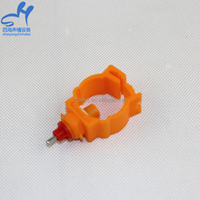 TOP Selling Automatic Plastic Poultry / Duck / Broiler / Rabbit Nipple Drinkers For Chicken Farm