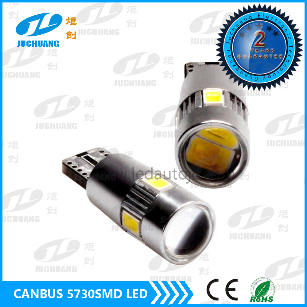 T10 6*5730SMD with Len Canbus LED Dome Interior Car Light Bulb