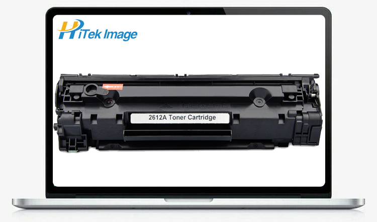 Compatible hp 12a toner cartridge for laser p1102 Q2612A 1010 1012 1015 1018 1020 1022 3015 3020 3030 3050 3052 3055 m1005mfr