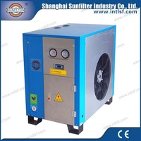 Profession quality prices portable diesel fusheng screw air compressor with dryer