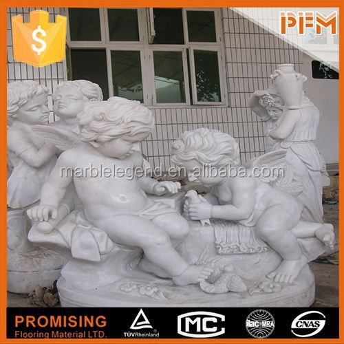 Luxurious decorative for home hand-craved family stone sculpture