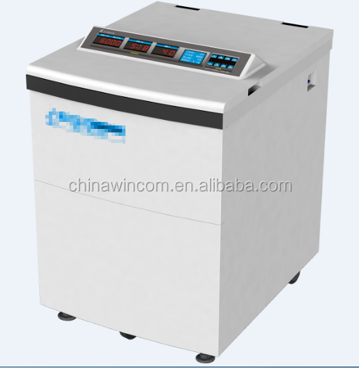 China Factory Price LAB Digital high capacity 6*1000ml low speed centrifuge for sale