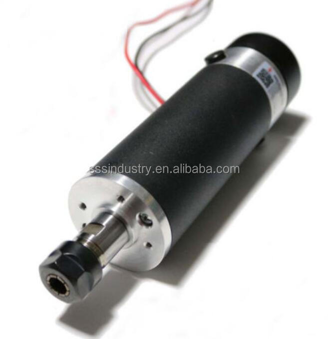 57mm 600W 110V DC Air-Cooling CNC Spindle <strong>Motor</strong> ER16 600mN.m 12000r/min DIY