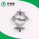 cable clamp accessory Hot-dip galvanized bracket saddles type electric metal steel galvanized cable pole clamp
