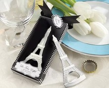 hot sale cheap price custom logo eiffel tower wedding favor bottle opener