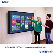Free Standing Movable Wireless Portable USB Touch Screen Interactive Whiteboard