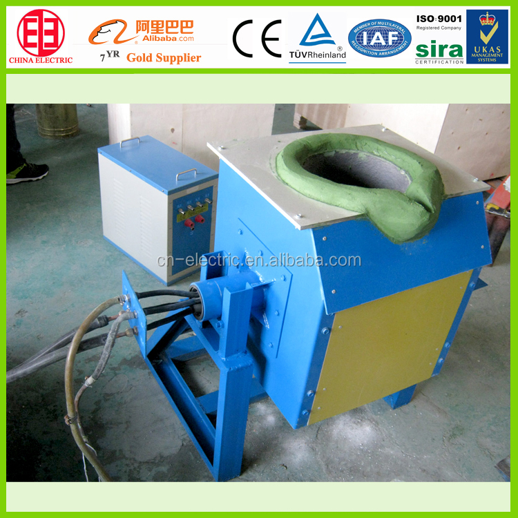 Induction Heating Machine Small Aluminum Melting Furnace