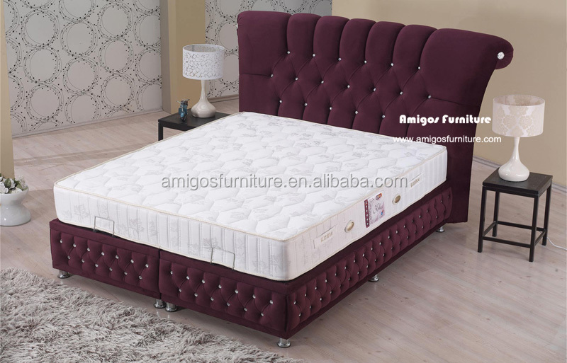 2015 Fashion Bed Design Furniture Pakistan Model Buy Foshan