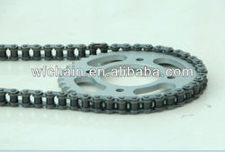 Motorcycle sprocket and chain kits used BAJAJ motorcycle--motorcycle spare parts