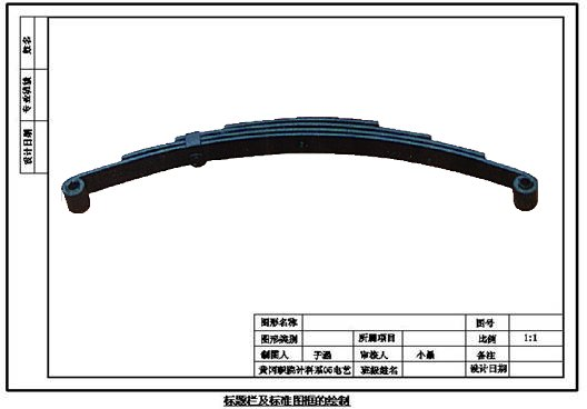truck leaf spring Assembly truck parts trailer suspension