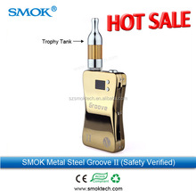 Smoktech groove II ecig mod best vv vw ecig with a 3800mah rechargeable battery built inside