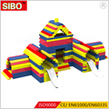 2018 hot sale building blocks for kids soft indoor playground building bricks