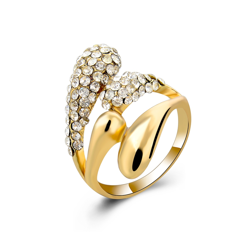 Cheap womens ring online gold ring designs promise crystal ring