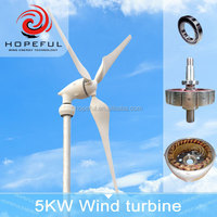 Green power 3 phases PM generator clean energy 5KW 48v wind turbine for selling
