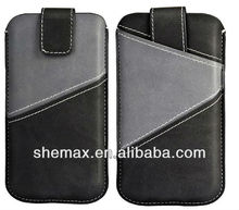 PU Mobile Phone Case Leather Bag Design for iphone 4g 5g 4s