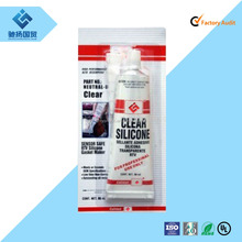 Engine motor usage fine oil resistance Lubricant gray RTV silicone gasket maker silicone sealant