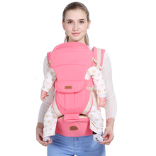Wholesale fashion ergonomic breathable soft sling baby carrier hipseat bag backpack