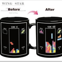Hot Sale Temperature Color Changing Mug Color Cup Color
