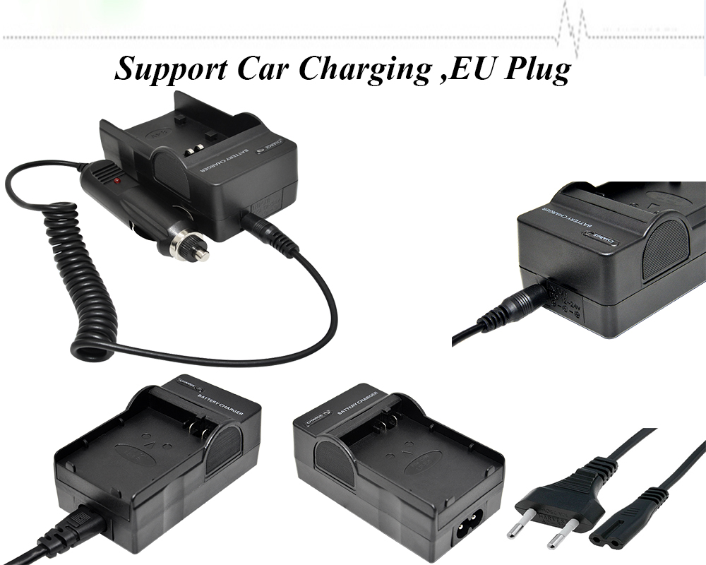 ITB Video /digital camera battery charger travel super universal charger fits for sony nikon canon