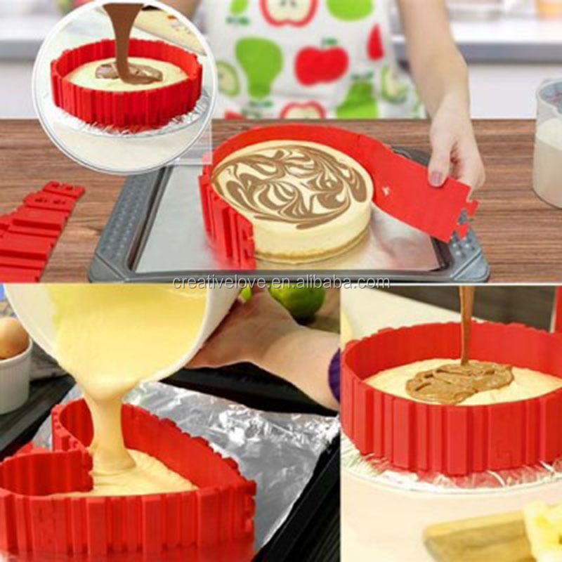 Bake Snakes Silicone 4pcs As seen on TV bakeware Cake Mould Baking Mould Kitchen Tool Magic Bake Snakes