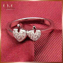 NEW designs single stone finger 925 silver ring Manufacturer, strawberry ring