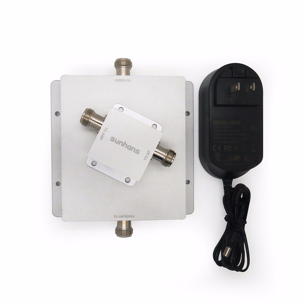 Powerful 20w High gain industrial WiFi Booster for outdoor