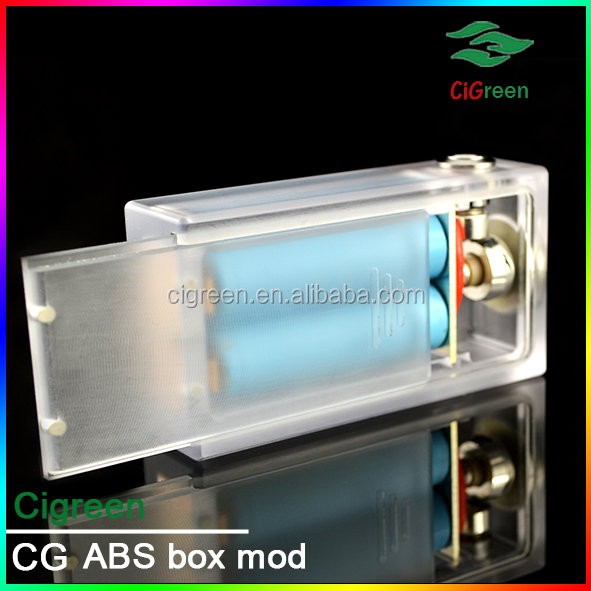 2015 hot selling cigreen factory price vapor mod clone dna 30 box mod abs box mod in stock