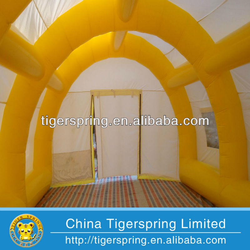 Factory direct sale tan tent inflatable