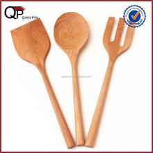 Alibaba Gold Supplierwooden Spatula Spoon Turner Cooking Utensils Set Beech Wooden Kitchen Utensil Set