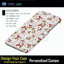 Marble style case for iphone 6 6s hot sell fortune cat pattern cover for apple iphone 6 plus and 6s plus