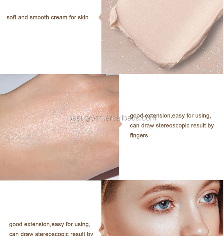 3D Double Extension Brighten the skin Bronzer/Shadow/High burnishing Stick Udpp