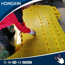 Oil rig rotary drilling table polyurethane(PU) rubber rotary system drilling rig mat