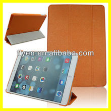 Slim belk Smart Magnetic Awake/Sleep Folding Leather Stand Case Cover for iPad Air 5 Color yellow